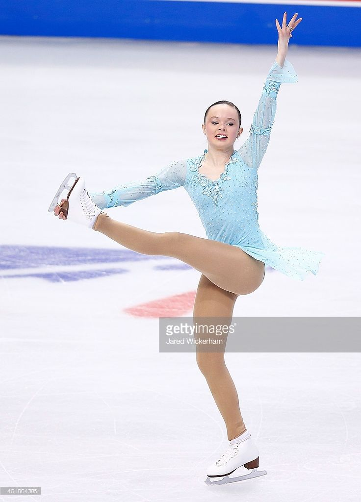 Mariah Bell competes in the free skate program during the 2014 Prudential U.S. Figure Skating Championships at TD Garden on January 11, 2014 in Boston, Massachusetts.