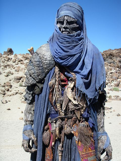 Such a great character design. Djinn from Clash of The Titans
