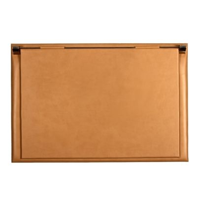 Stylish leather desk folder