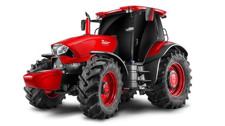 Pininfarina designed this sleek Zetor tractor
