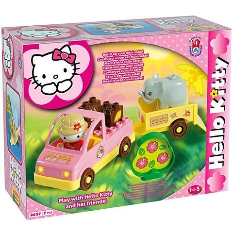 Vontatós autó------Unico Hello Kitty Mini Szafari építőkocka szett 7db-os rendelés olcsó Unico Hello Kitty Mini Szafari építőkocka szett 7db-os vásárlás - árak