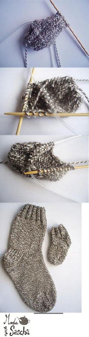 Tutorial sokken breien op een rondbreinaald.