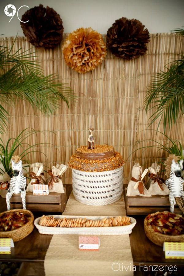 25 best ideas about safari party decorations on pinterest for African party decoration