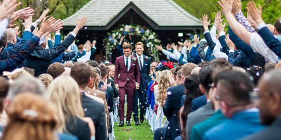Tom Daley and Dustin Lance Black share pictures of their fairytale wedding