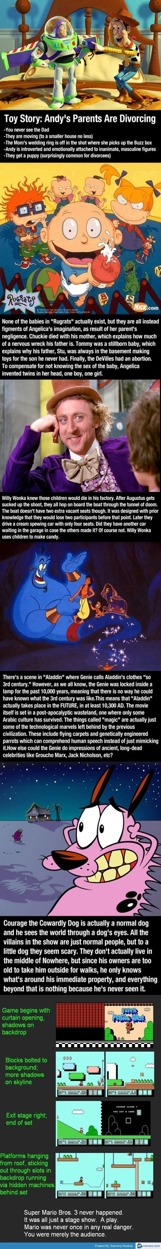 OMG the aladdin conspiracy theory!