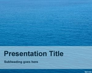 31 best blue powerpoint templates images on pinterest ppt template nautical powerpoint template is a blue background powerpoint template with sea photo in the background slide toneelgroepblik Images