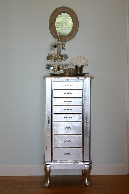 Going to silver leaf my hall table using this method!