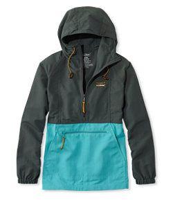 #LLBean: Mountain Classic Anorak, Colorblock
