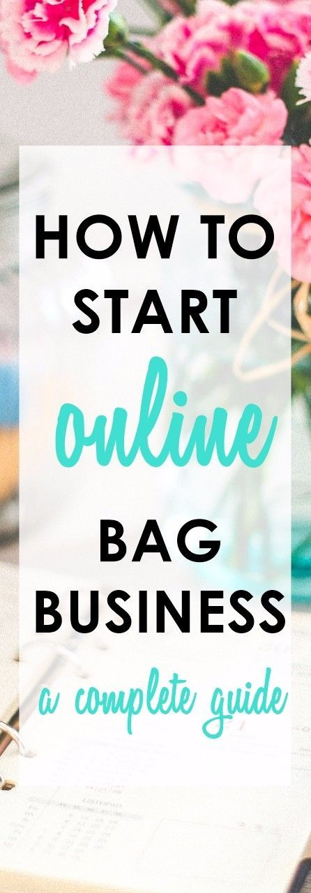 Road to Online Bagpreneur | How to Start an Online Handmade Bag Business | home business ideas | craft business ideas