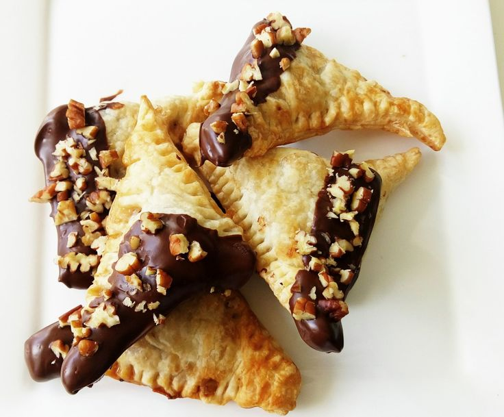 Chocolade peer flapjes