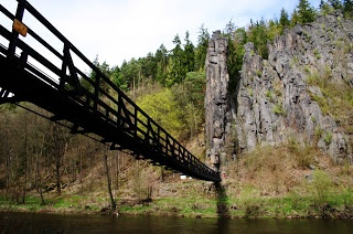 Karlovy Vary to Loket - hiking trail, Czech Republic