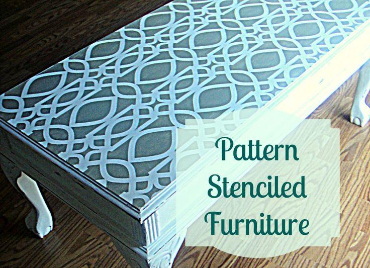 Decorate My Life | Pattern Stencils | http://decoratemylife.com