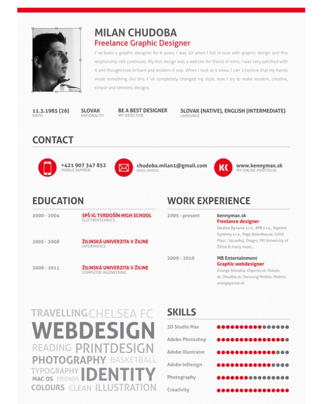 17 best images about kreator cv on pinterest