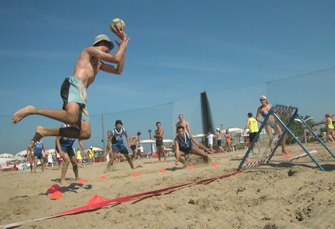 Festival Internationale of Beach Tchoukball 2012 a Viserba  Rimini, Italy