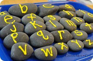 Activities withAlphabet rocksRocks 002, Crafty, Schools Ideas, Abc Rocks, Withalphabet Rocks Repin, Rocks Repin By Pinterest, Activities Withalphabet, Classroom Ideas, 26 Alphabet