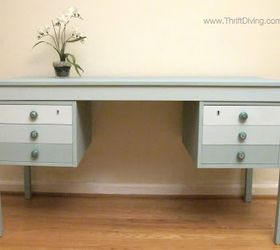 diy projects for home decorating the makeover of a dumpster desk