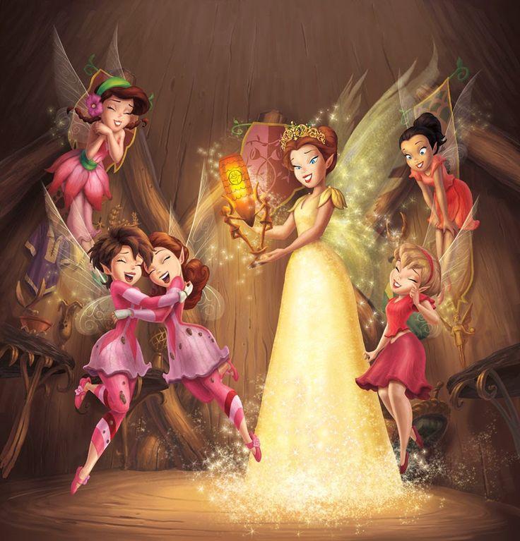 Картинки принцессы дисней феи