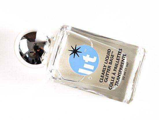 Lit Cosmetics Clearly Liquid Glitter Base