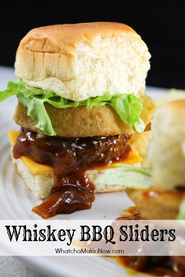 ... sliders spicy whiskey bbq sliders the pioneer woman spicy whiskey bbq