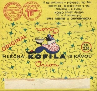Chocolate wrapper, Czechoslovakia