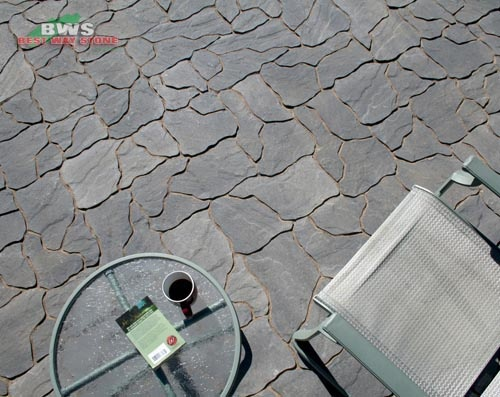 #outdoor #patio: Best Way Stone > Paver: Ardesia (Grey Mix)
