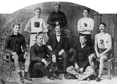 The 1886 U.S. Olympic team  1896 Olympics  Athens