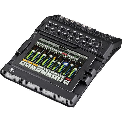 Mackie DL1608 iPad-Controlled 16-Channel Digital Live Sound Mixer with Lightning Connector