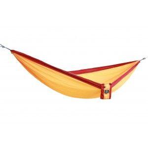 Leichte Reisehängematte Camper goldgelb von MacaMex für 1-2 Personen
