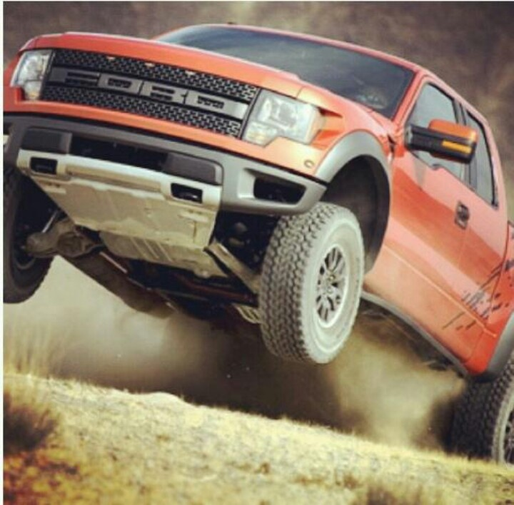 Ford rapter in action!
