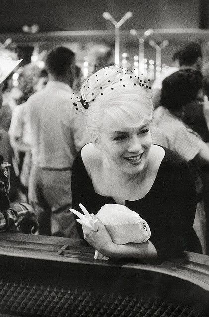 Photo: Inge Morath (The lady Arthur Miller married after he and Marilyn divorced.)