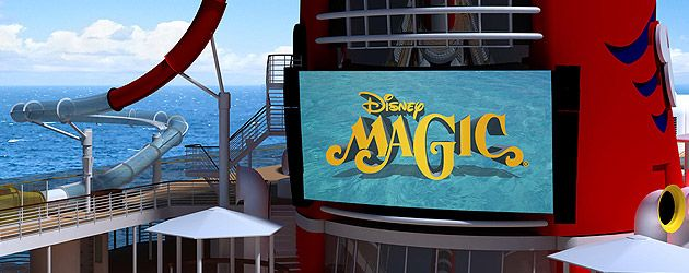 Disney Magic cruise ship upgrades announced with AquaDunk drop slide, Marvel kids area, revamped dining