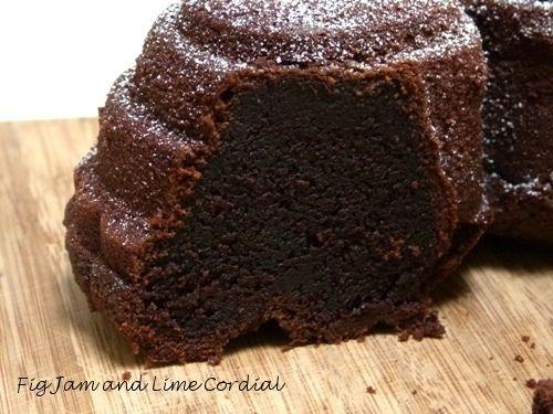 Chivas Regal Chocolate Cake