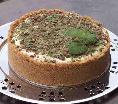 South African Peppermint Crisp Tart - gotta make this!