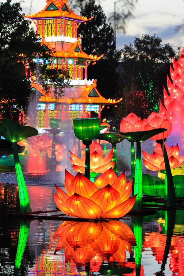 Texas State Fair - Chinese Lantern Festival by Stacy bogan, via Behance
