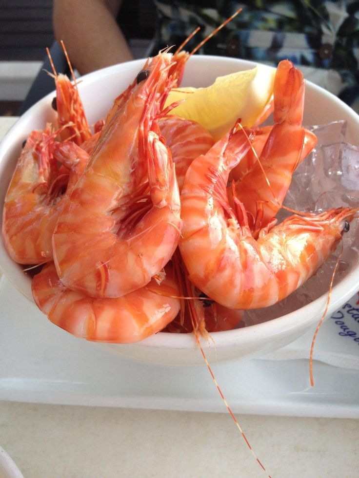 chilled prawns served at On The Inlet Seafood Restaurant Port Douglas guest photos
