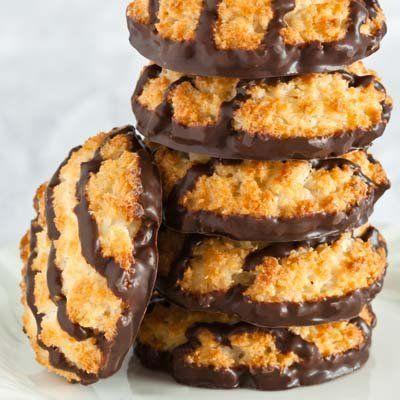 Biscoitos crocantes de coco | Minha Vida