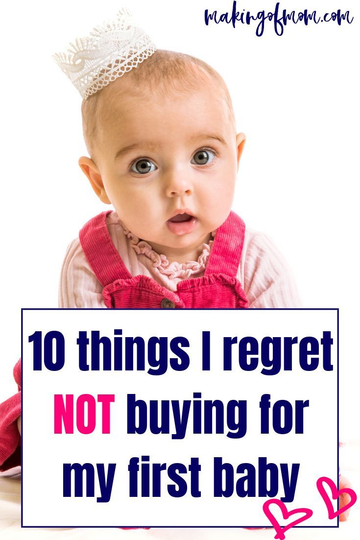 3afa3fbfa438 10 things I regret not buying for my first baby.