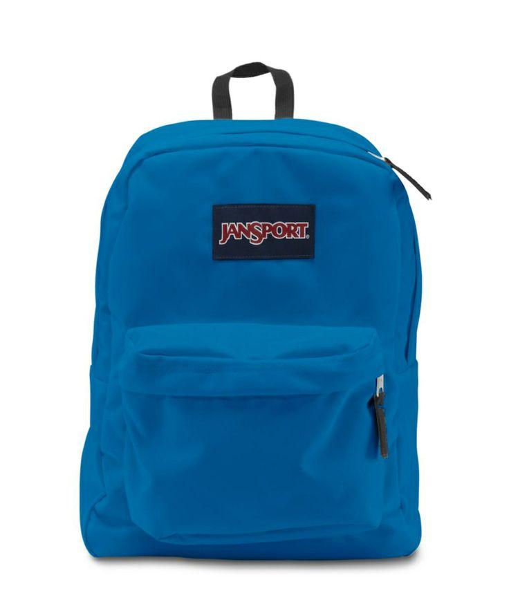 JANSPORT SUPERBREAK BACKPACK SCHOOL BAG - Swedish Blue, $32.99 ...