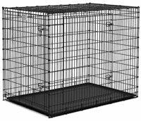 Midwest SL54DD 'Ginormus' Double Door Dog Crate + Pan