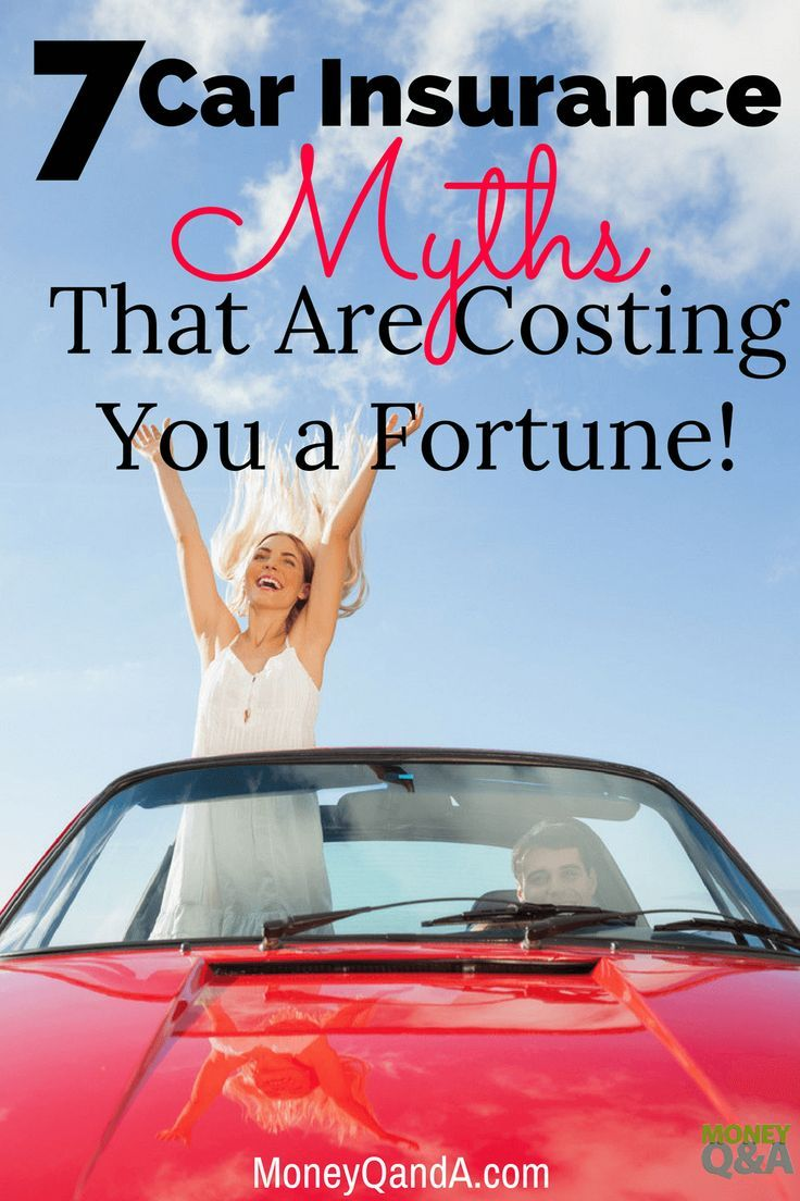 Top 7 Car Insurance Myths That Are Costing You A Fortune Car