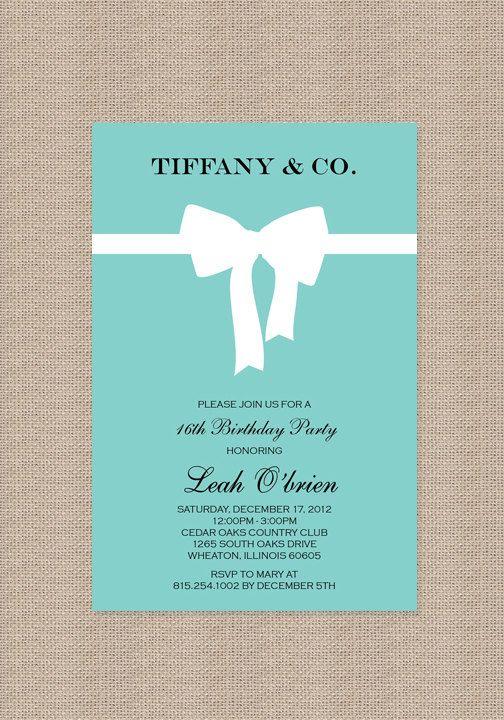 meesterbruiloft - Tiffany & Co thema bruiloft