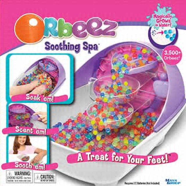 orbeez soothing spa orbeez water beads pinterest spas. Black Bedroom Furniture Sets. Home Design Ideas