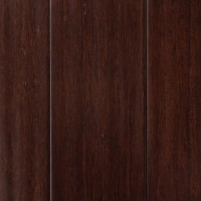 Home Decorators Collection Hand Scraped Strand Woven Walnut 3 8 In X In X 72 7 8 In