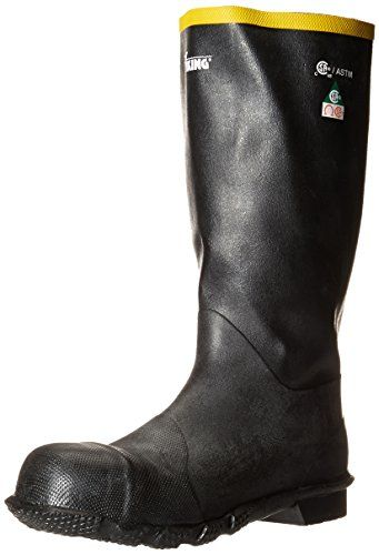 Viking Footwear Men's HandyMan Steel-Toe Rubber Boot *** Learn more by visiting the image link.