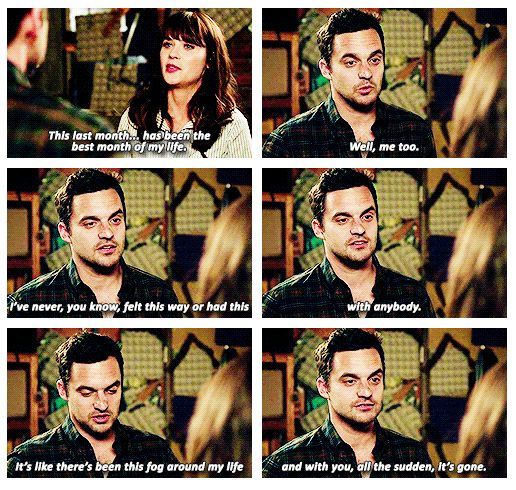 it's been a month and i'm not scared. {gif} #newgirl