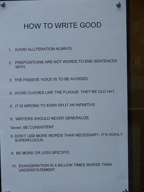 For all you grammar Nazis out there. Humorous yet disturbing.