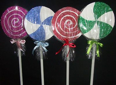 GIANT LOLLIPOP PROPS