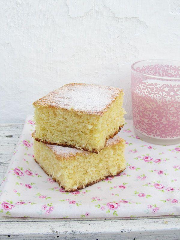 Cakes :: Cookies - Quadrados Fofos de Coco e Limão
