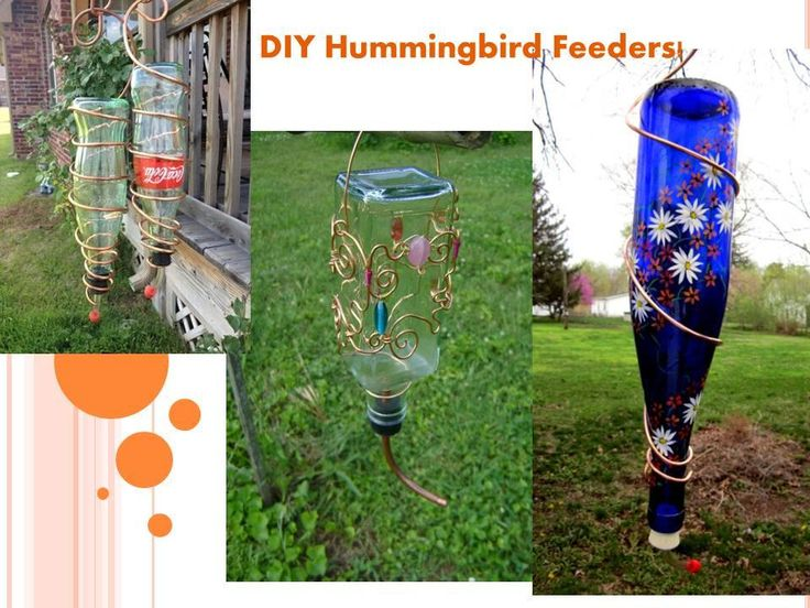 Do it yourself!!! These Hummingbird Feeders are great gift ideas!