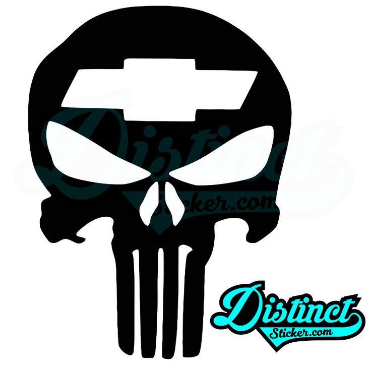 Punisher Chevy - Sticker